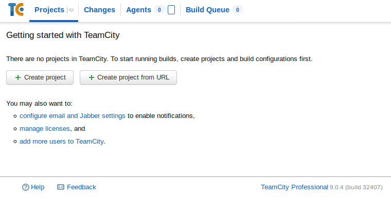 Install and configure TeamCity 9 images/11-install-and-configure-teamcity-9-linux-mint-ci-server/212-teamcity-installed.png