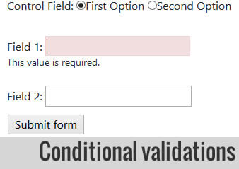 Conditional field validation with ParsleyJs - Geekalicious