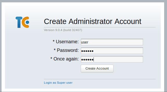 Instalar e configurar TeamCity 9 em Linux images/11-install-and-configure-teamcity-9-linux-mint-ci-server/208-teamcity-create-account.png